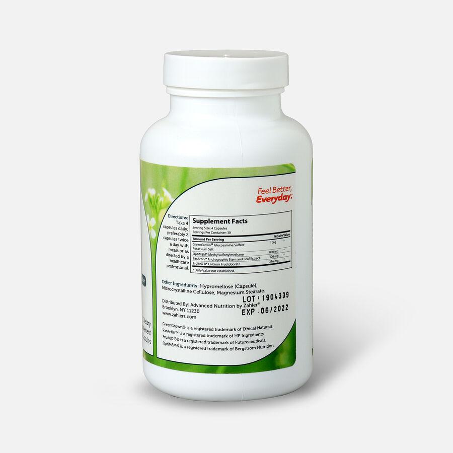Zahler SynerG, Advanced Glucosamine Sulfate with MSM, 120 Capsules, , large image number 1