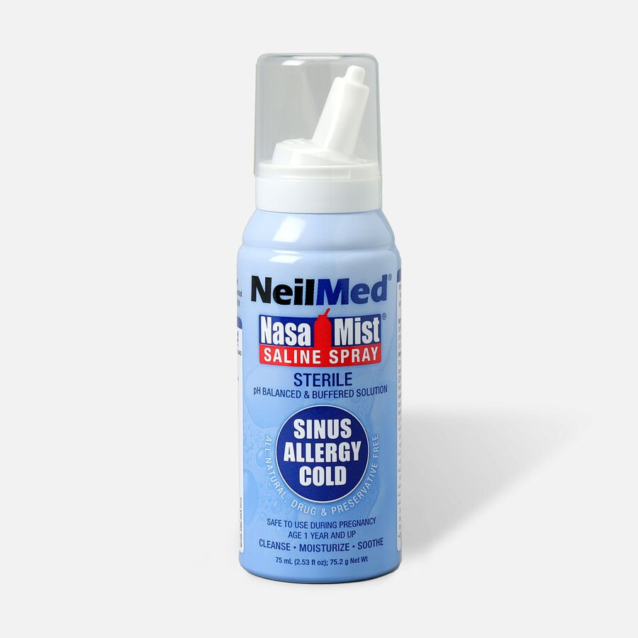 NeilMed NasaMist Isotonic Nasal Spray 75 ml, 2.53 oz, , large image number 0