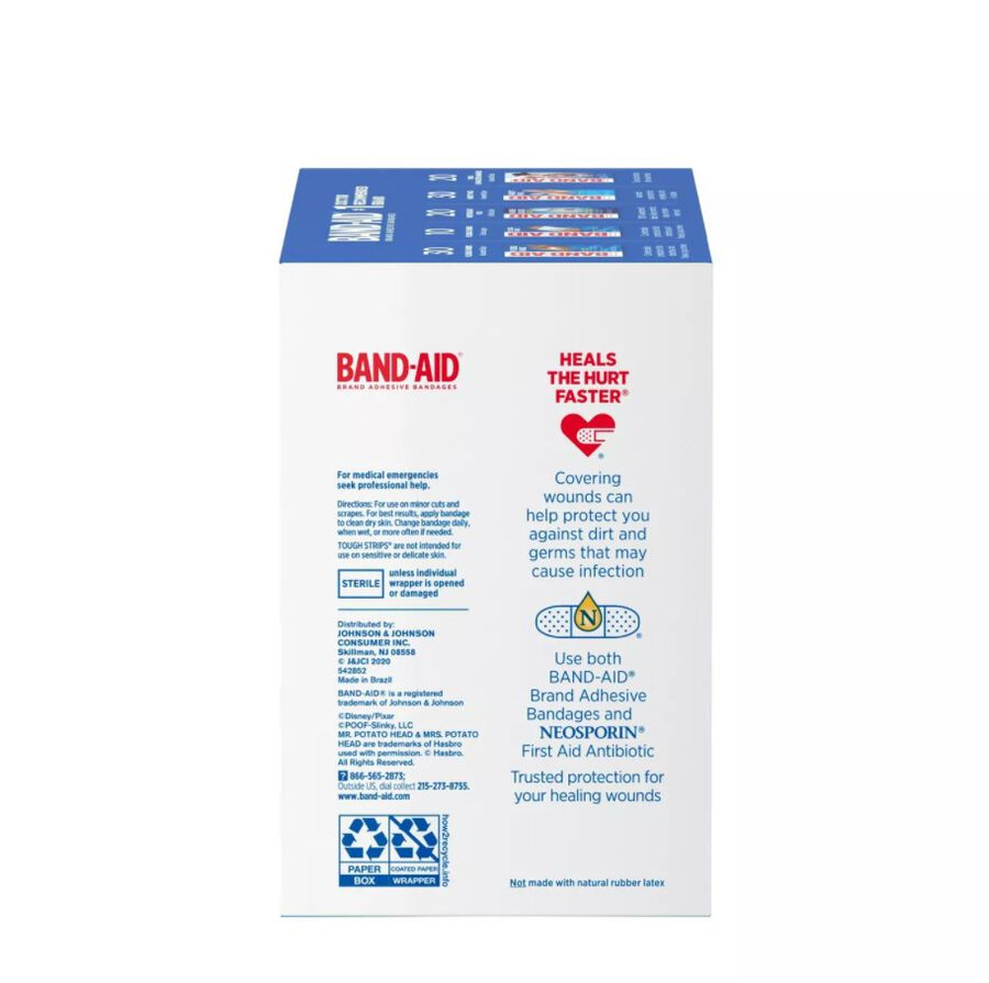 Band-Aid Family Pack Adhesive Bandages, 110 ct, , large image number 3