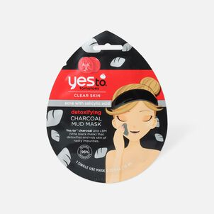Yes To Tomatoes Charcoal Detoxifying Mud Mask, Single Use
