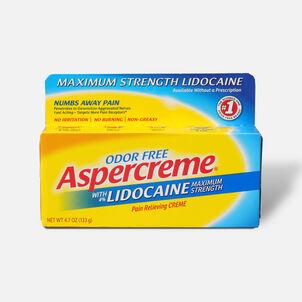 Aspercreme Creme with Lidocaine, 4.7 oz.