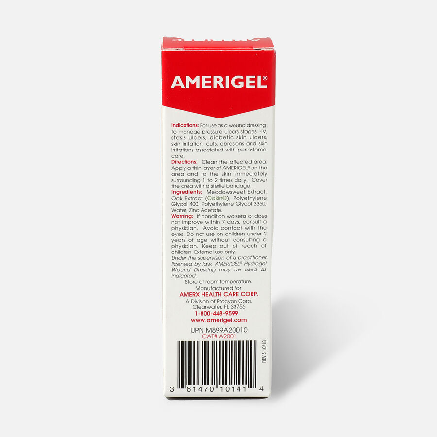 Amerigel Hydrogel Wound Dressing, 1 oz, , large image number 1