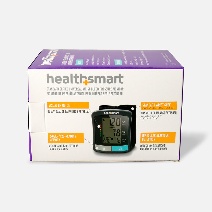 HealthSmart Standard Series LCD Wrist Digital Blood Pressure Monitor, , large image number 1