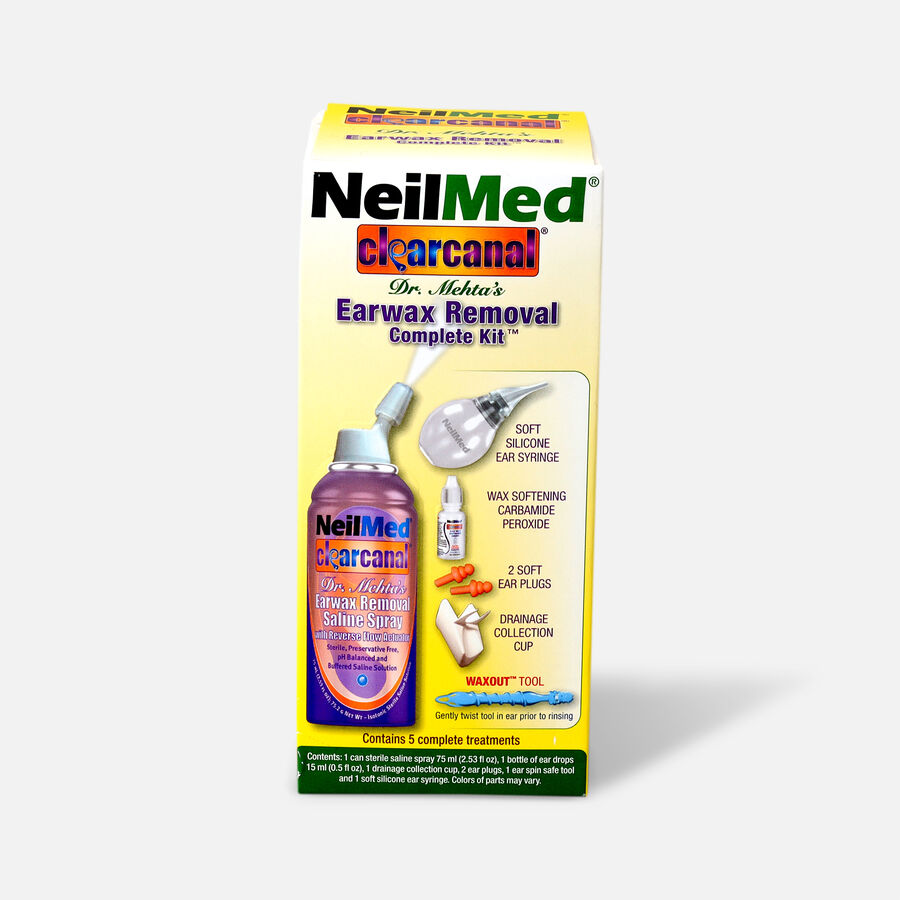 NeilMed Clear Canal Earwax Removal System, , large image number 0