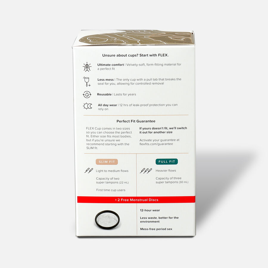 FLEX Menstrual Cup (includes 2 FREE Menstrual Discs), , large image number 6