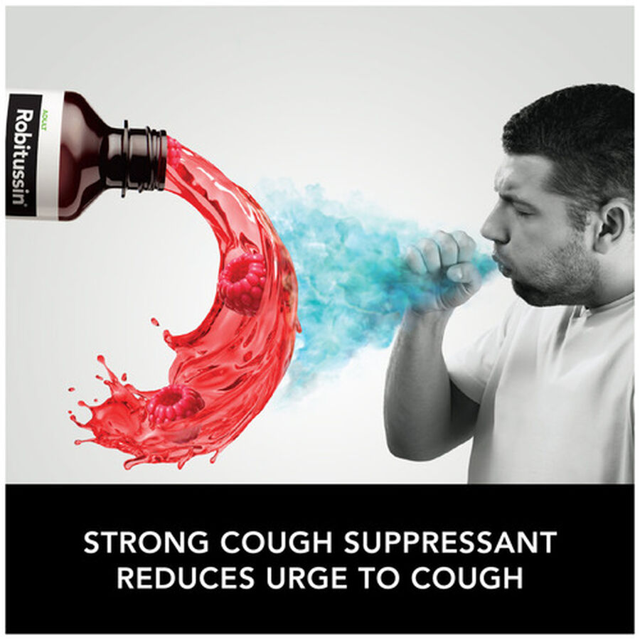 Robitussin Max Strength Cough and Chest Congestion DM Non-Drowsy Liquid, 12 oz, , large image number 3