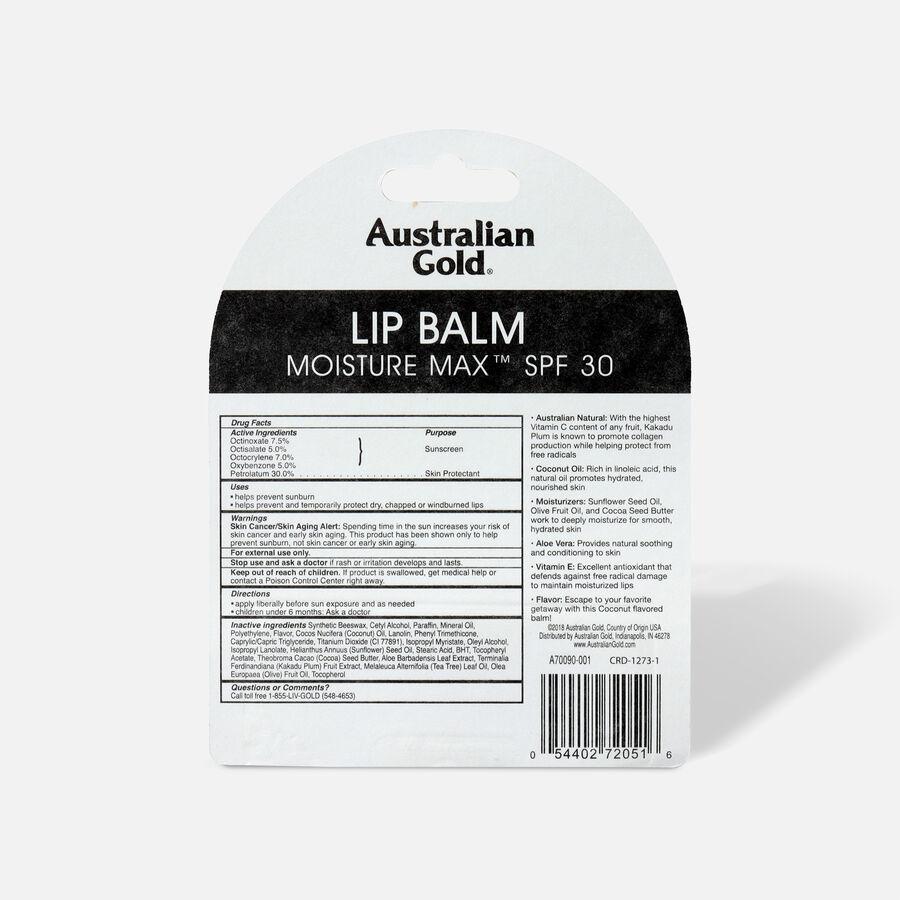 Australian Gold Lip Balm, SPF 30, Coconut, , large image number 1