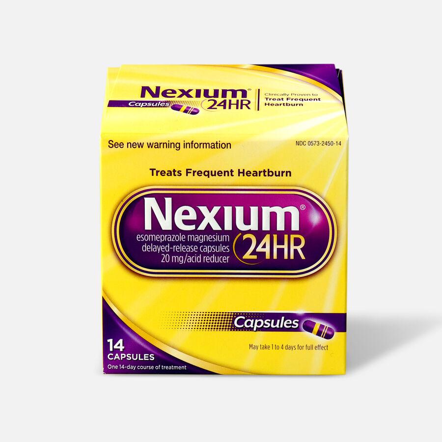 Nexium 24HR Capsules, 14 ct, , large image number 0