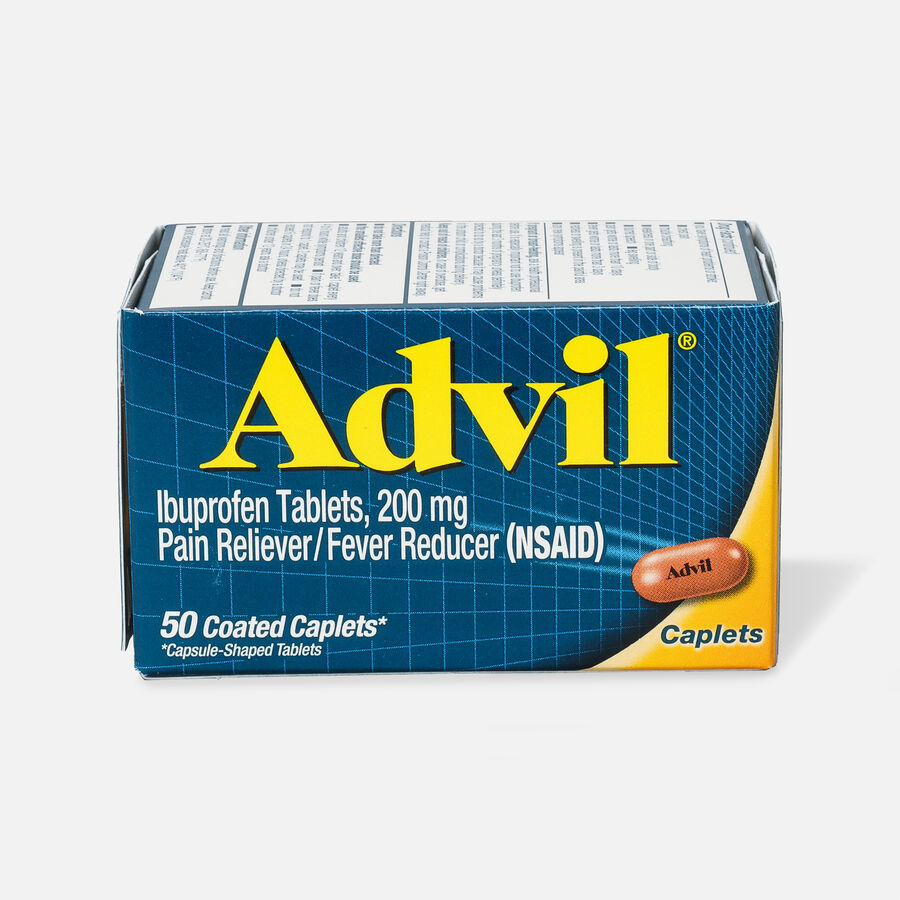 Advil Pain Reliever and Fever Reducer Coated Caplets, 200mg, , large image number 5
