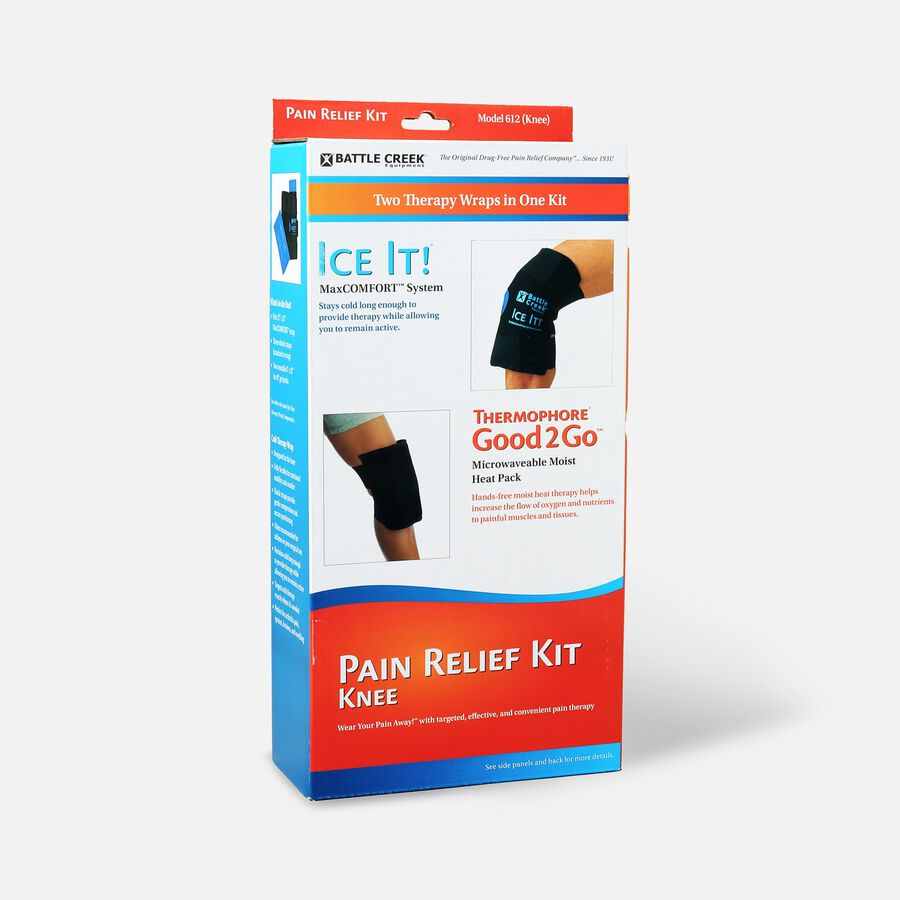 Battle Creek Knee Pain Kit with Moist Heat and Cold Therapy, , large image number 2