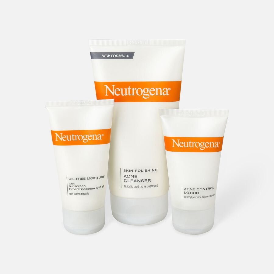 Neutrogena Complete Acne Therapy System, , large image number 1