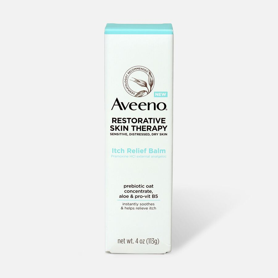 Aveeno Restorative Skin Therapy Itch Relief Balm, 4oz., , large image number 1