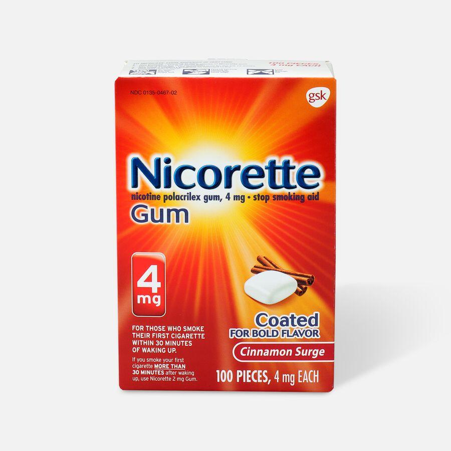 Nicorette Gum, 4mg, 100 ct, , large image number 0