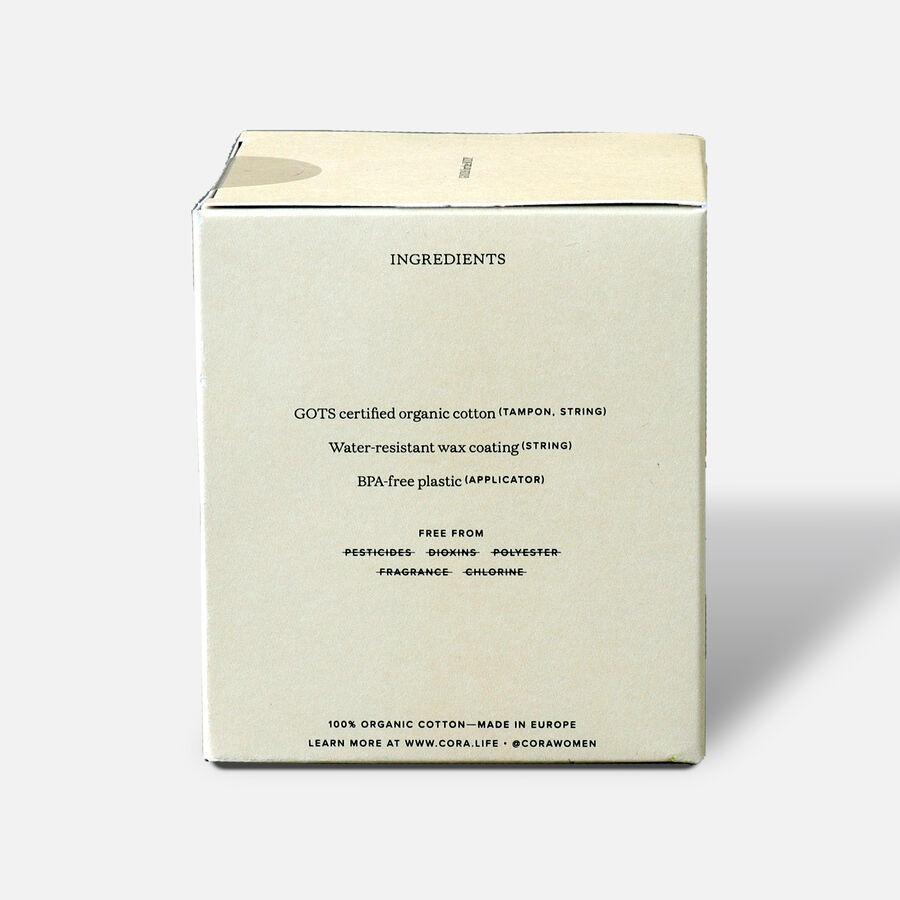 Cora Organic Cotton Applicator Tampons, Regular, 16ct, , large image number 4