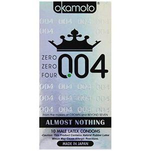 Okamoto .04 mm Zero Zero Four Condoms, 10 ct