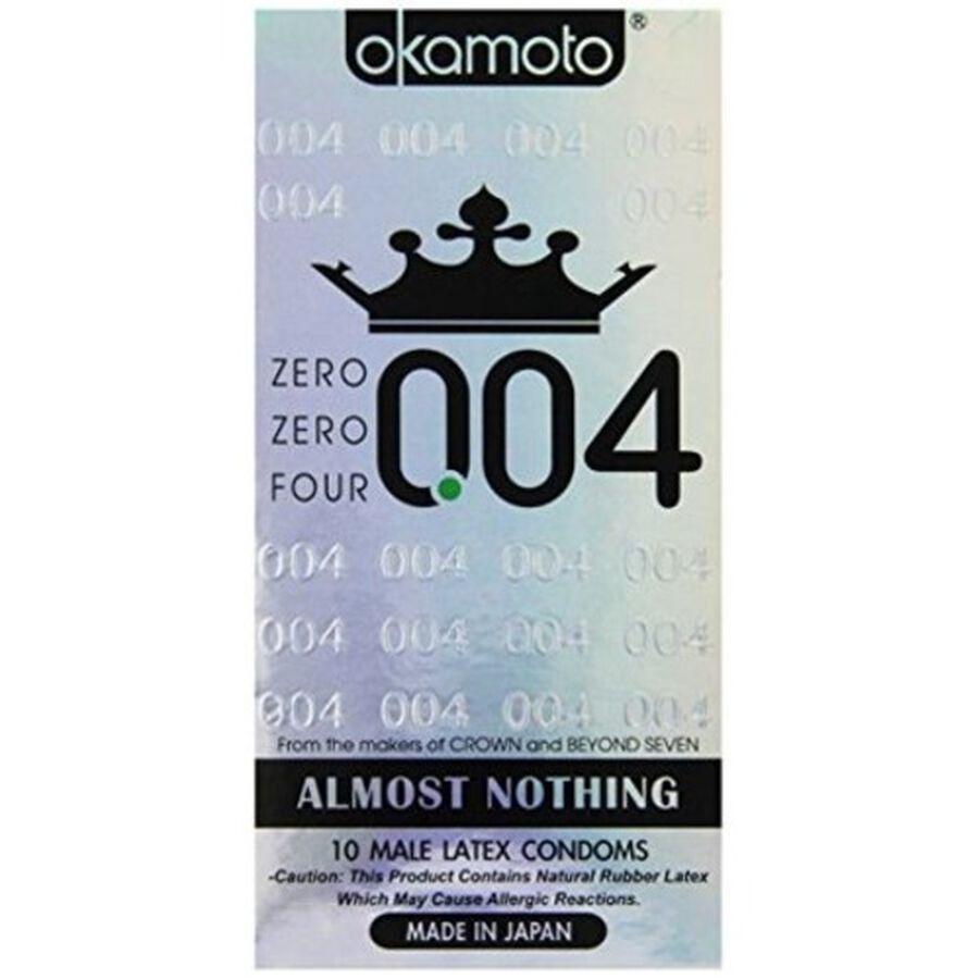 Okamoto .04 mm Zero Zero Four Condoms, 10 ct, , large image number 0