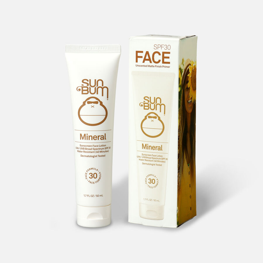 Sun Bum Mineral SPF 30 Sunscreen Face Lotion, 1.7oz, , large image number 3