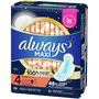 Always Maxi Pads with Wings, Unscented, , large image number 1