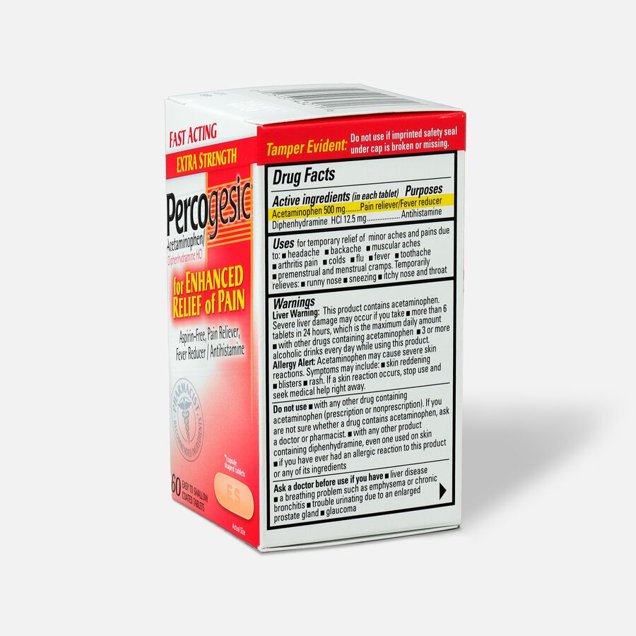 Percogesic, Extra Strength, 60 count, , large image number 3