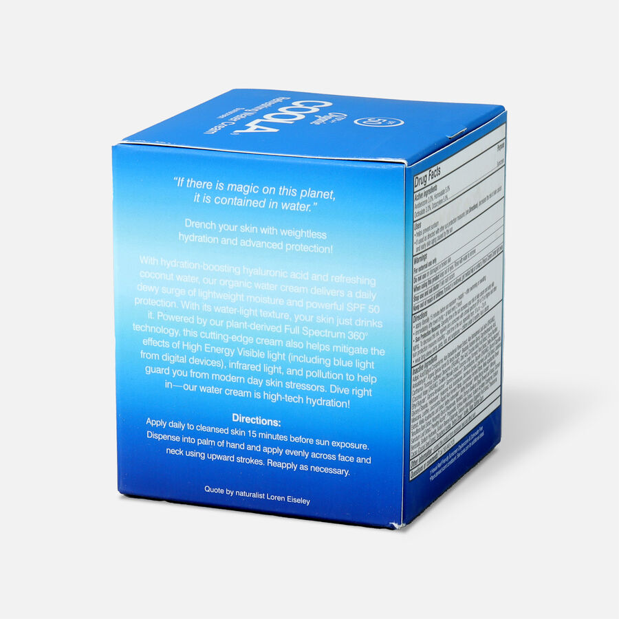 Coola Refreshing Water Cream Sunscreen SPF 50, 1.5oz, , large image number 4