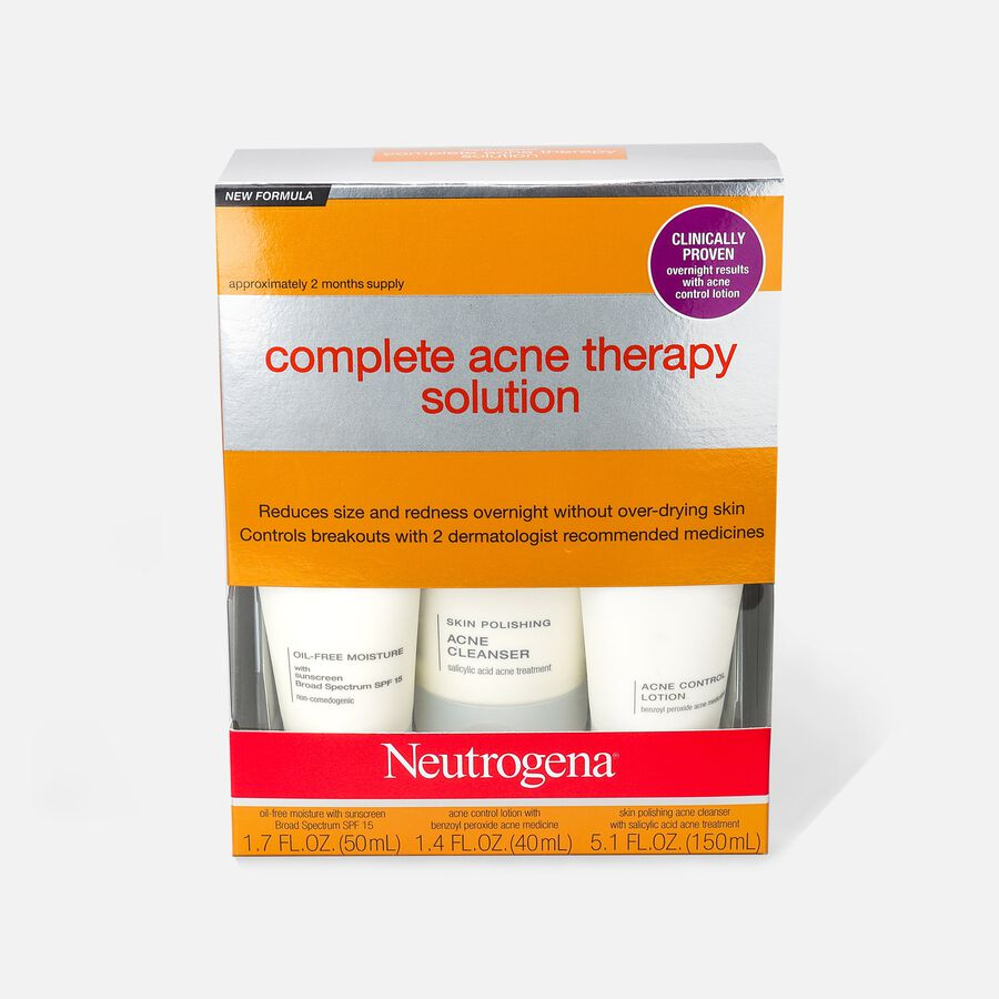 Neutrogena Complete Acne Therapy System, , large image number 0