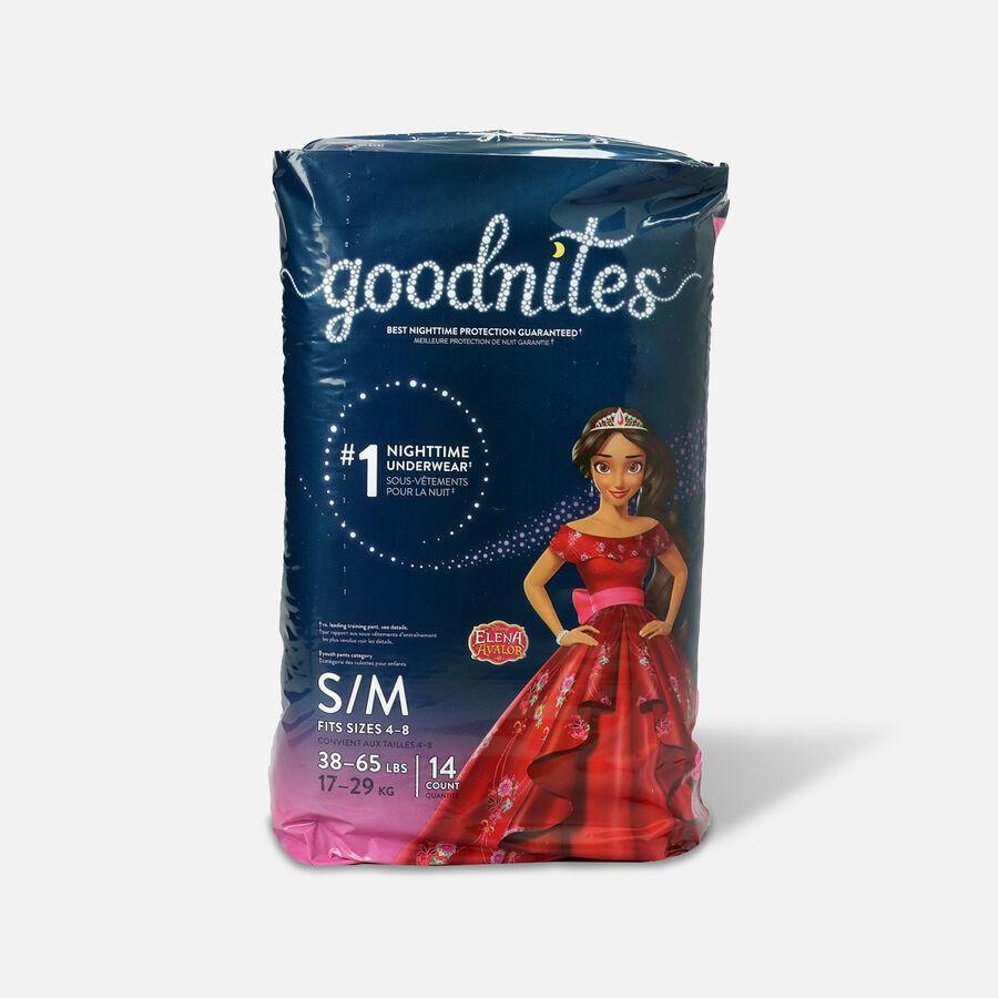 Goodnites Bedtime Underwear for Girls, , large image number 0