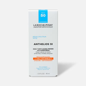 La Roche-Posay Anthelios Daily Wear Primer Face Sunscreen, SPF 50 with Antioxidants, 1.35 Fl. Oz.