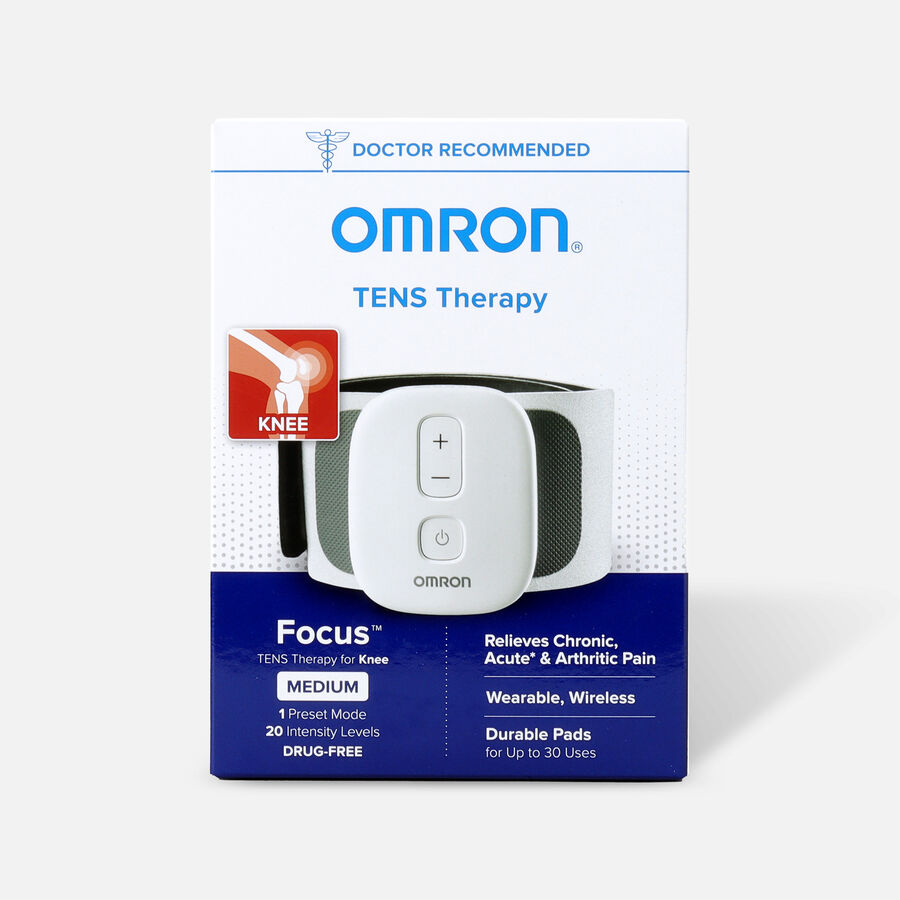 OMRON Focus TENS Therapy for Knee, Wearable, Wireless, Medium, , large image number 0