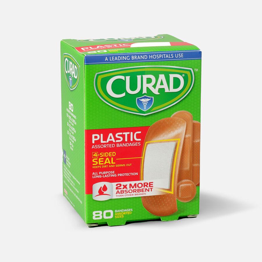 Curad Assorted Plastic Bandages, 80 ea, , large image number 1