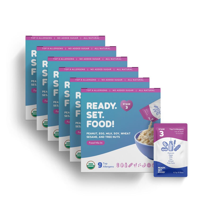 Ready, Set, Food! Early Allergen Introduction System for Babies 8+ Months, Stage 3, , large image number 4