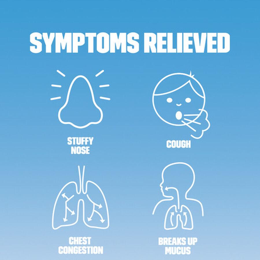 Mucinex Children's Multi-Symptom Liquid Cold, Very Berry, 4 oz, , large image number 1