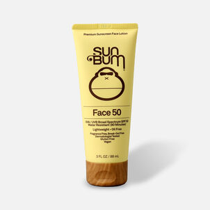 Sun Bum SPF 50 Face Sunscreen Lotion, 3 oz