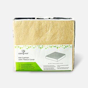 "Caring Mill™ Gel Cushion with Fleece Cover – 18"" x 16"" x 3"""