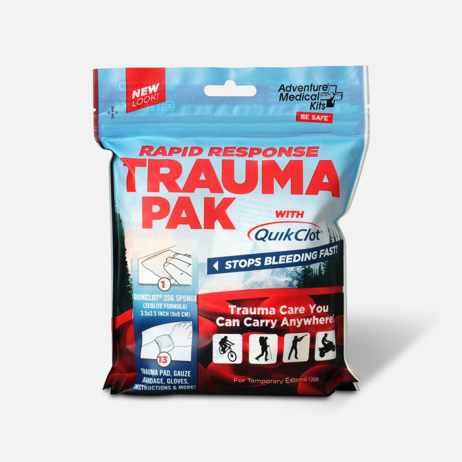 Adventure Medical Rapid Response Trauma Pak with QuikClot, , large image number 0