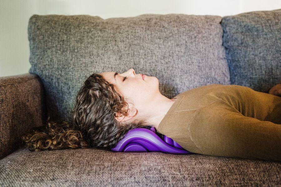Kanjo Flex Firm Acupressure Neck Pain Relief Cushion, , large image number 5