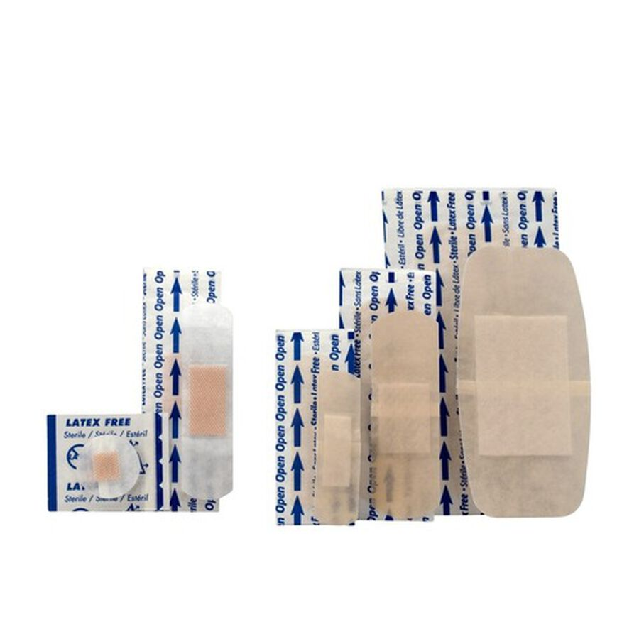 First Aid Only Sheer & Clear Bandage Variety Pack, Assorted Sizes - 280ct, , large image number 2