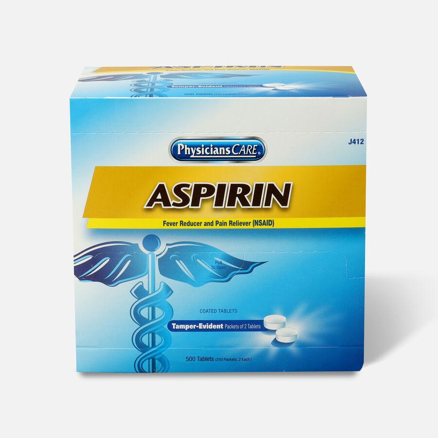 PhysiciansCare Aspirin, 500 Box, , large image number 0