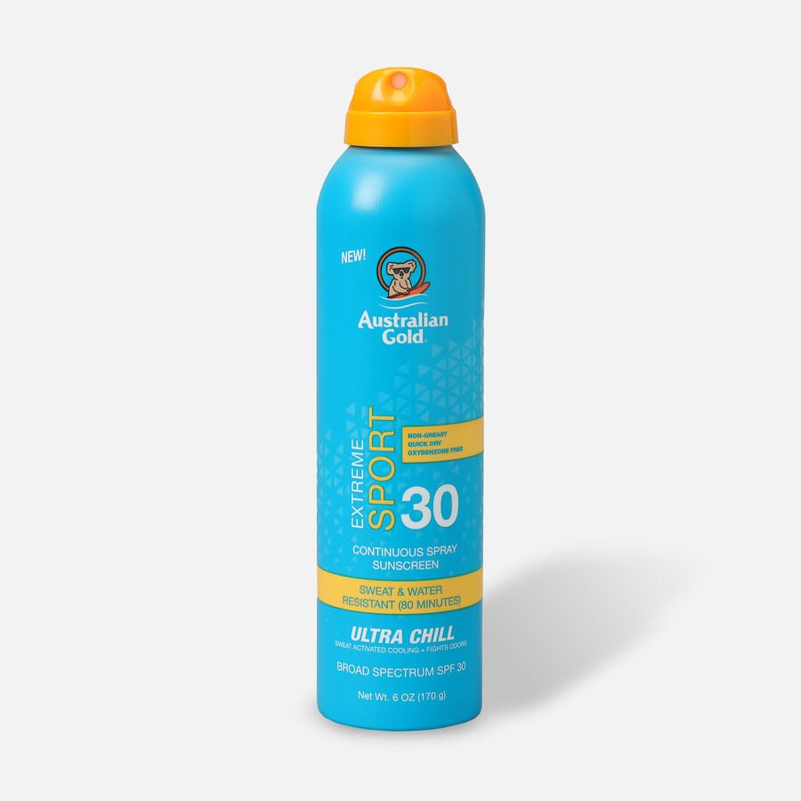 Australian Gold Extreme Sport Continuous Spray Ultra Chill, 5.6oz, , large image number 0