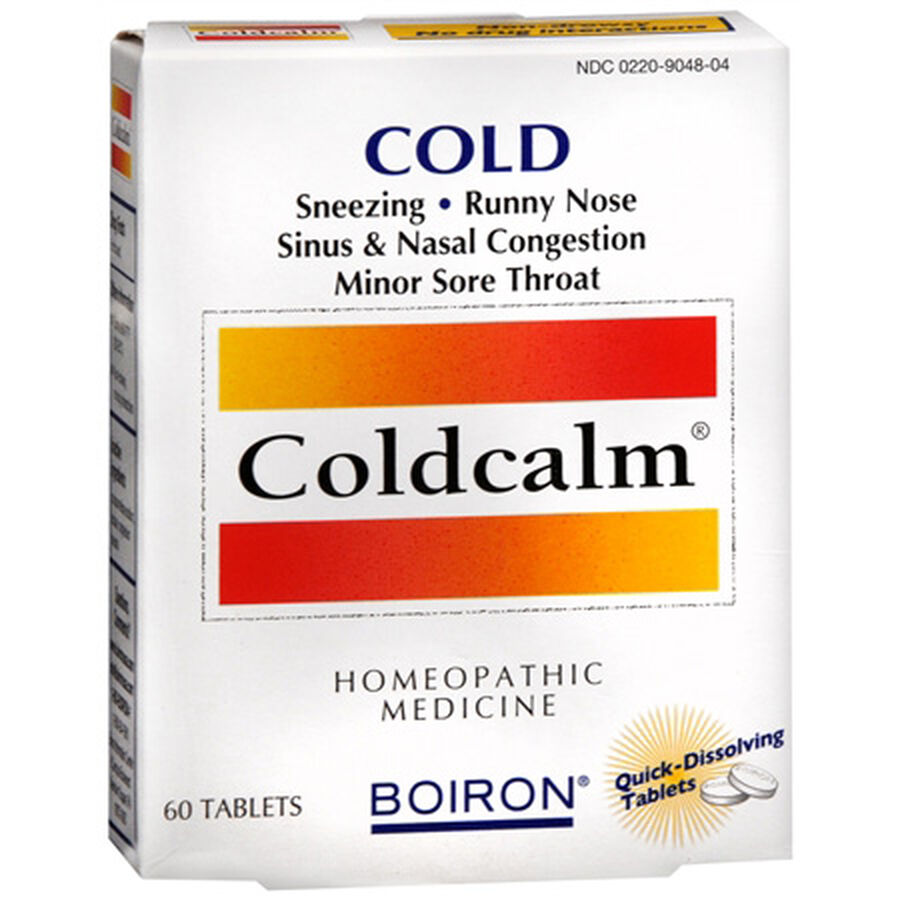 Boiron Coldcalm, Cold Relief Quick Dissolving Tablets, 60 ea, , large image number 0