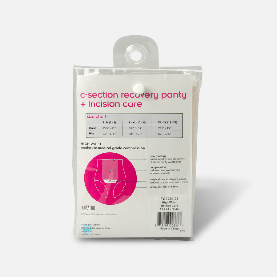 UpSpring C-Section Recovery Panty Plus Incision Care Nude, , large image number 1