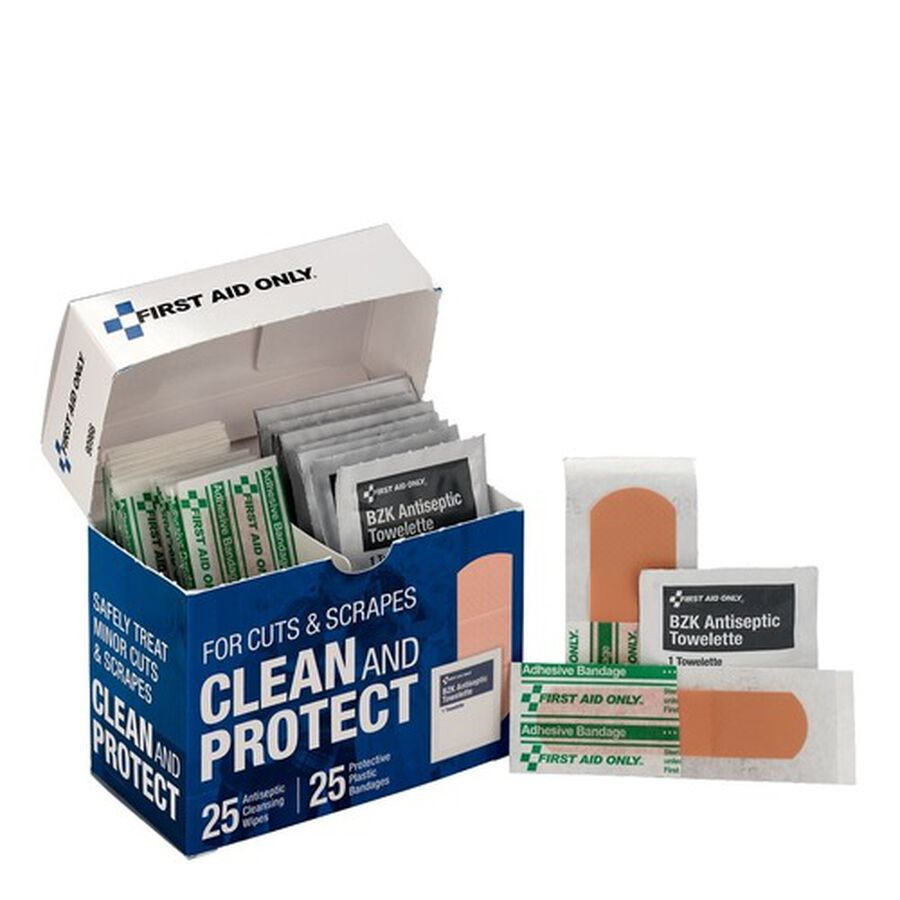 First Aid Only Clean and Protect Wound Care Kit, , large image number 2