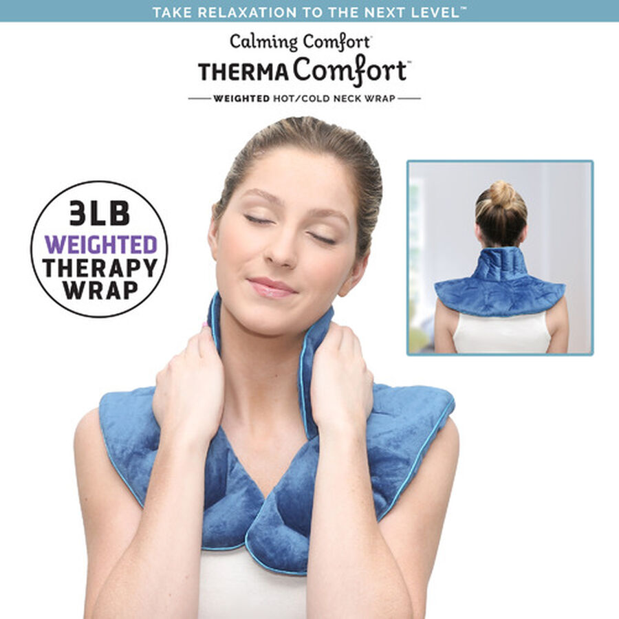 ThermaComfort™ 3 lb. Weighted Hot/Cold Neck Wrap, , large image number 4