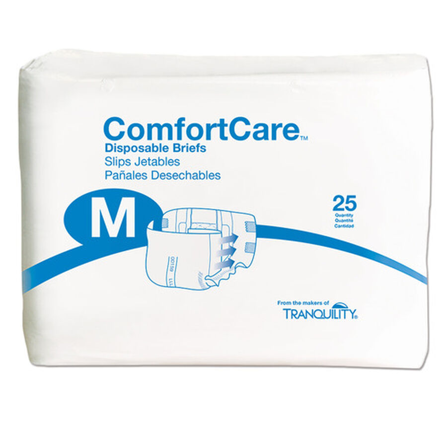 "ComfortCare Disposable Brief, Medium 32"" - 44"", , large image number 0"