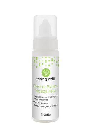 Caring Mill® Sterile Saline Nasal Mist 3.1oz