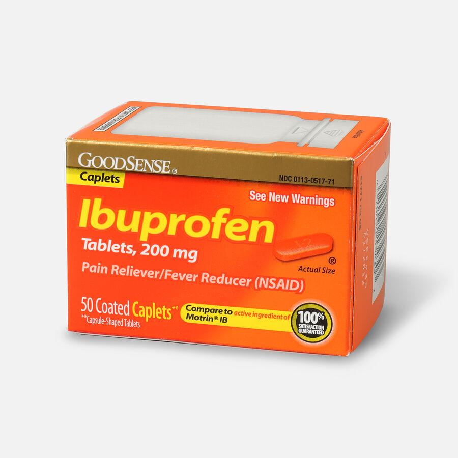 GoodSense® Ibuprofen IB Coated Caplets, 200 mg 50 ct, , large image number 2