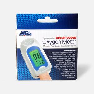 Jobar Color Coded Fingertip Pulse Oxygen Meter