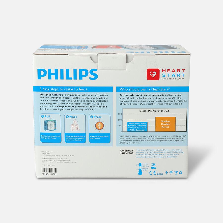 Philips HeartStart Home Defibrillator (AED), , large image number 3