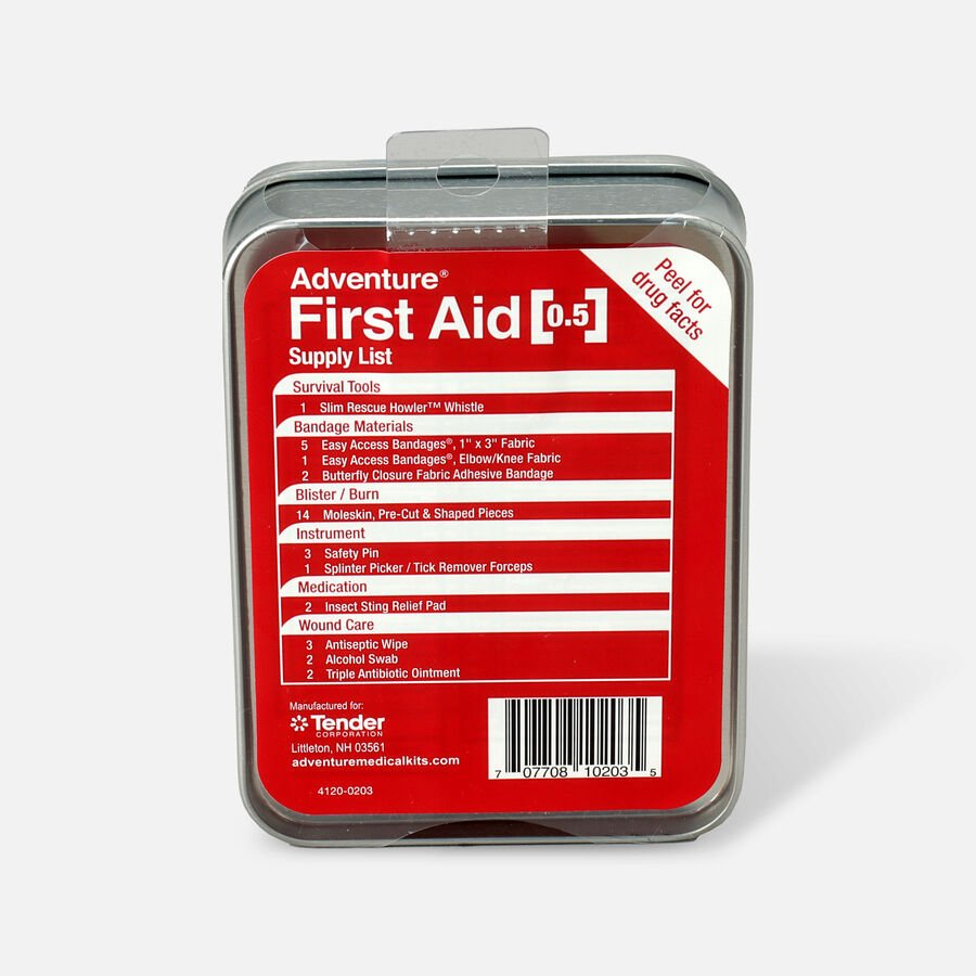 Adventure First Aid, 0.5 Tin, Kit, , large image number 1