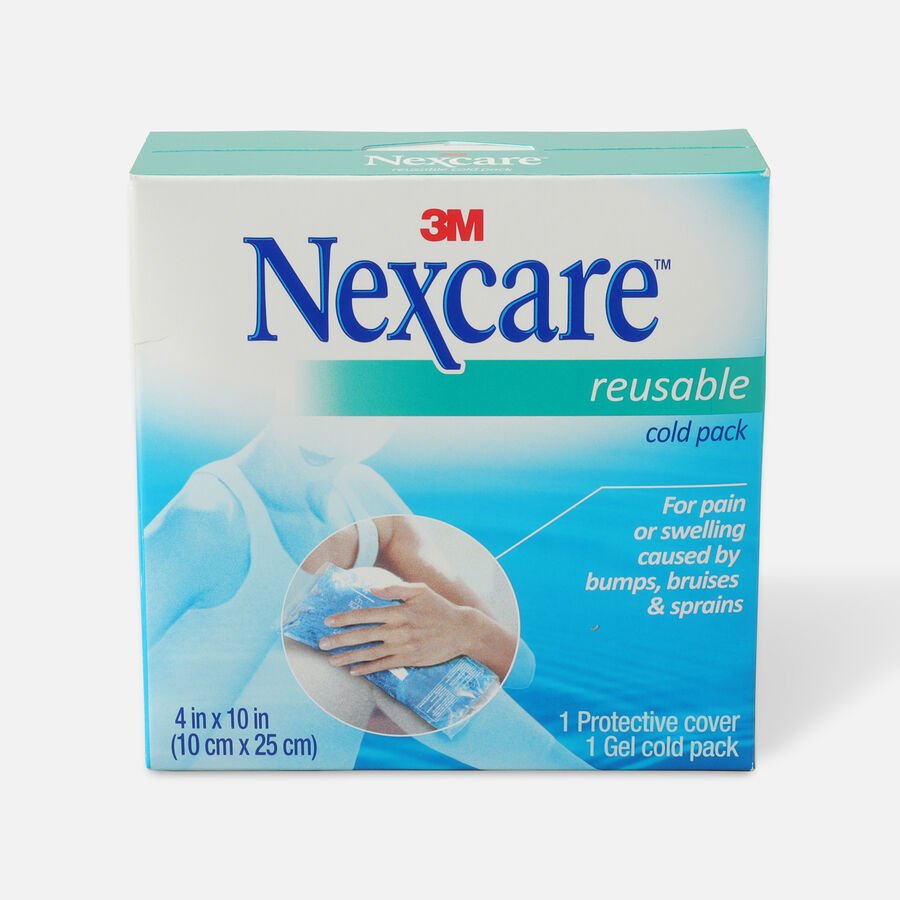 "3M Nexcare Reusable Cold Pack, 4"" x 10"", , large image number 0"