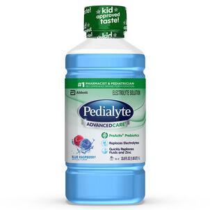 Pedialyte AdvancedCare, Blue Raspberry, 33.8 fl. oz.